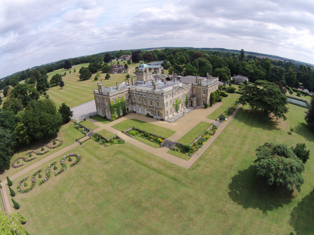 01 Aerial View of Culford Hall